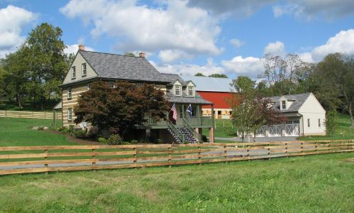 Lancaster County Pa Horse Farm Land And Log Home For Sale