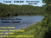 Famous Canada Salmon Fishing River - 7 Acres ID#:31018